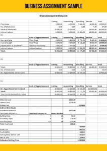 business finance assignment help
