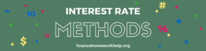 effective interest rate method