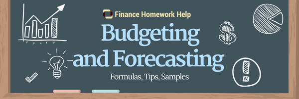 budgeting and forecasting in finance