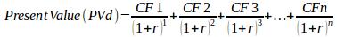calculate present value