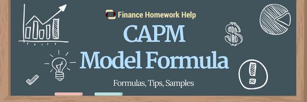 capm pricing model formula