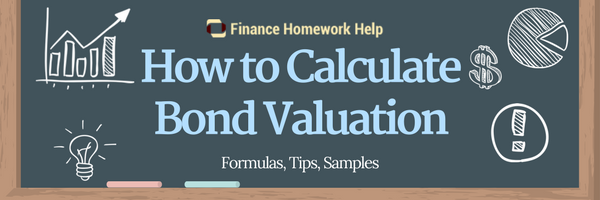 how to calculate bond valuation