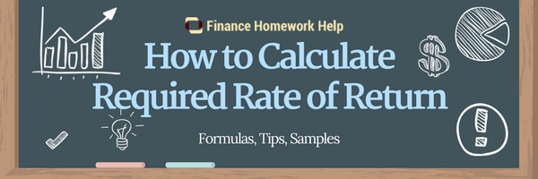 how to find required rate of return