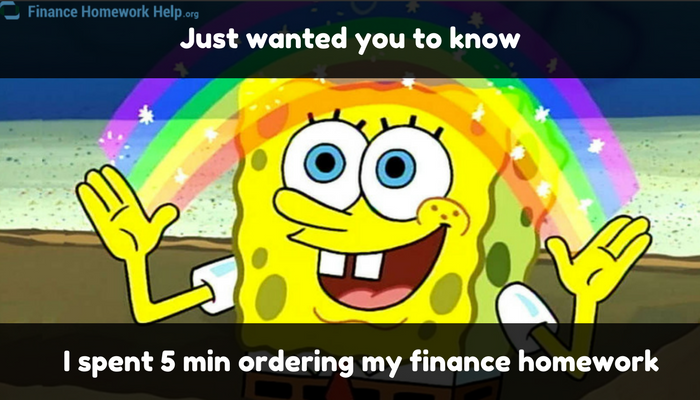 funny joke about finance assignment help