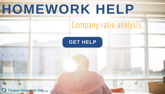 company ratio analysis homework help online