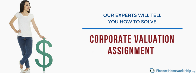 professional corporate valuation assignment help