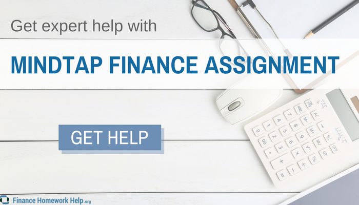 best mindtap finance assignment help