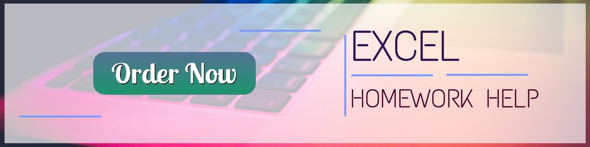 services for excel homework help